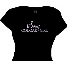 Sexy Cougar Girl Ts Ladies Cougar Tee Shirts